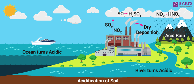 Acidification of Water Bodies