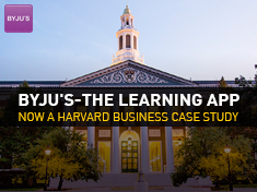 BYJU'S The Learning App is now a Harvard case study - : Exam