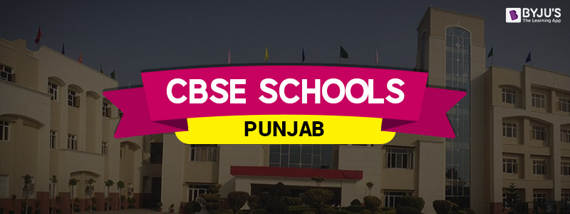 CBSE Schools In Punjab