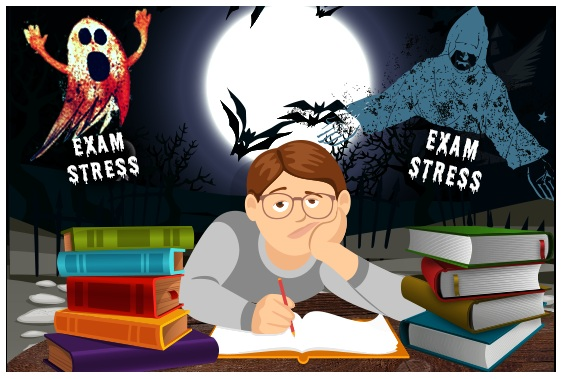 Exam-stress CBSE Board Exams - Tips to Deal With Exam Stress