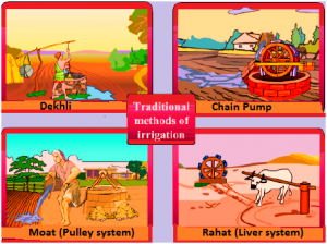 traditional-method-of-irrigation-paint-300x224 Crop production and management