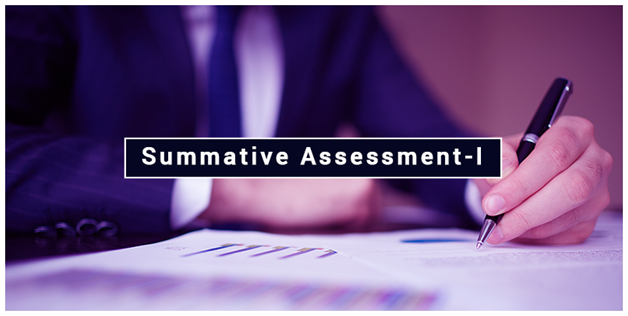 1 Summative Assessment-I for Class 9 and 10 (2016-2017)