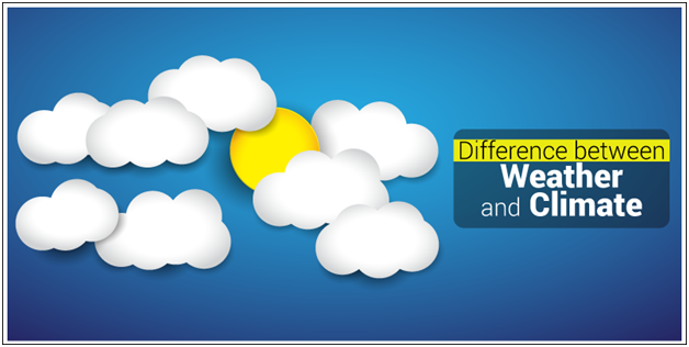 Weather-and-Climate1 Difference Between Weather and Climate