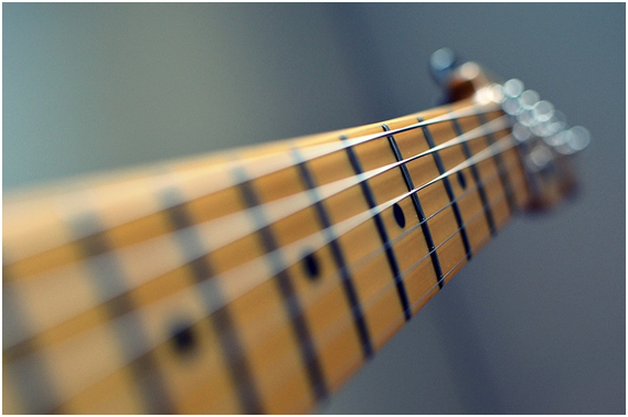 Guitar Musical Instruments - Guitar String Harmonic Frequencies