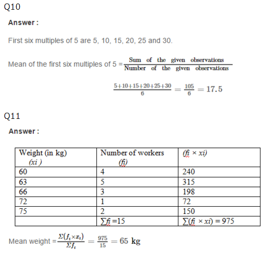 word-image912 Chapter-21: Collection and Organisation of Data (Mean, Median and Mode)