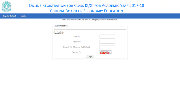 img-2 CBSE Board Class IX and XI Online Registration For Regular Candidates