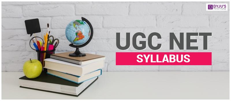 UGC-NET-Syllabus UGC NET Syllabus