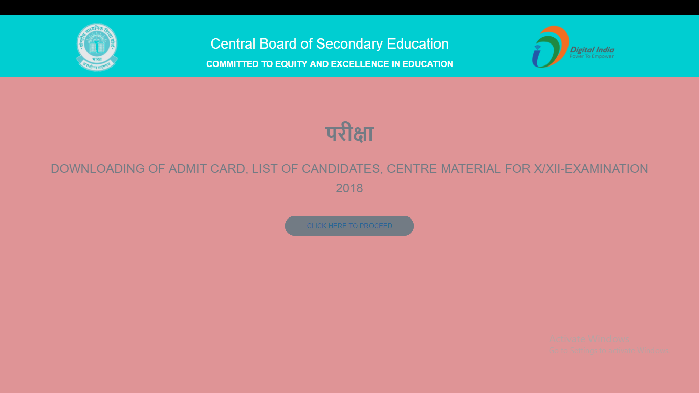 cbse-notification-1 CBSE Admit Card 2018 Released For Class 10 and 12