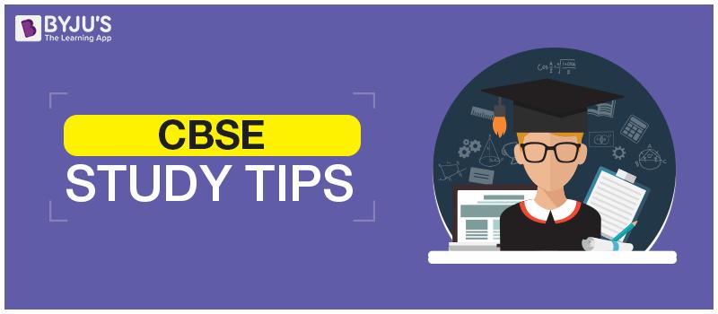 CBSE-Study-Tips CBSE Study Tips