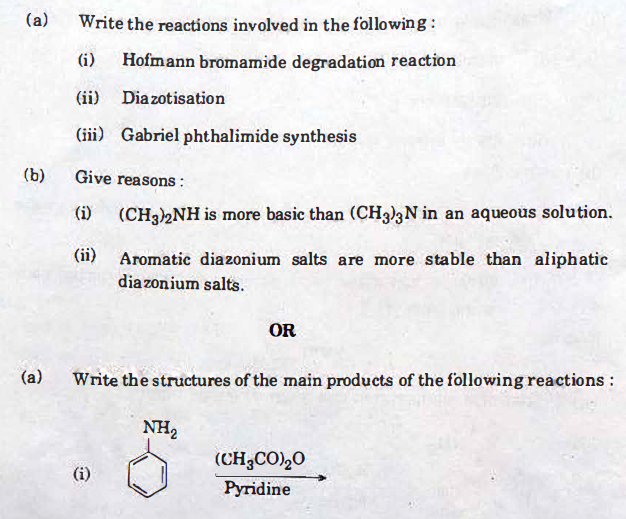 chemsitry-22 CBSE Class 12 Chemistry Exam 2018: Question Paper Analysis