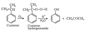 preparation of phenol from cumene