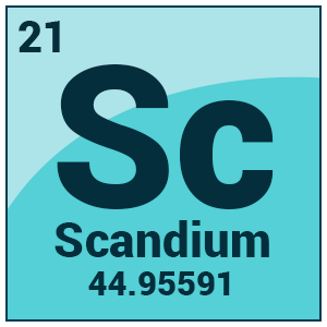 Chemical Properties Of Scandium