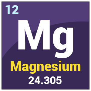 Magnesium mg uses of magnesium of chemical properties of magnesium magnesium urtaz Images