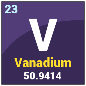 Physical And Chemical Properties Of Vanadium
