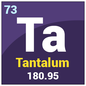 Ta Chemical Properties