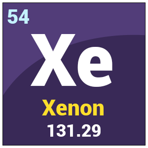 Xenon xe uses properties health effects periodic table symbol xe urtaz Image collections