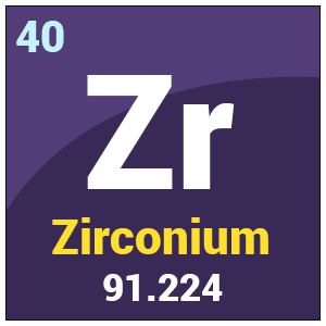 Zirconium zr uses properties facts periodic table symbol zr urtaz Image collections