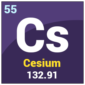 the discovery and uses of cesium Cesium is used in atomic clocks, photoelectric cells, as a catalyst to hydrogenate organic compounds, and as a 'getter' in vacuum tubes the isotope cs-137 is used in cancer treatments, to irradiate foods, and as a tracer for drilling fluids in the petroleum industry.