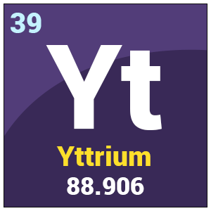 Yttrium y properties uses health effects periodic tablebyjus symbol y urtaz Images