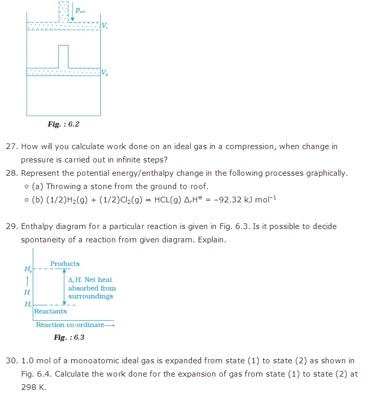 important questions class 11 chemistry chapter 6 chemical thermodynamics 4