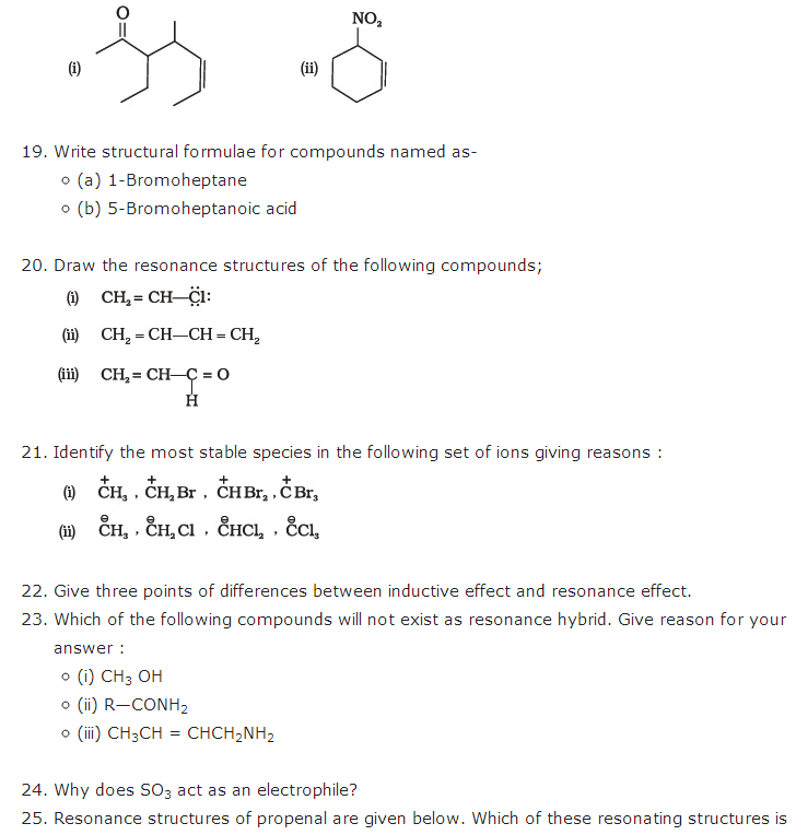 important questions class 11 chemistry chapter 12 organic chemistry basic principles technique 4