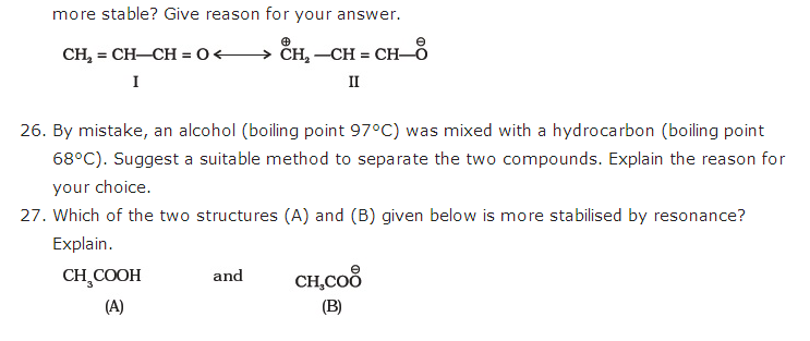 important questions class 11 chemistry chapter 12 organic chemistry basic principles technique 5