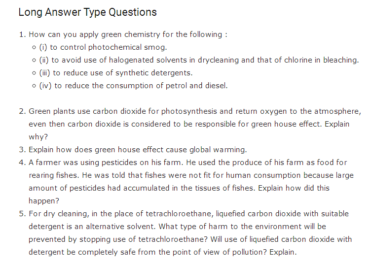 important questions class 11 chemistry chapter 14 environmental chemistry 3