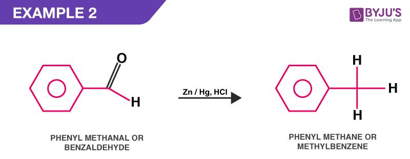 Clemmensen reduction example 2