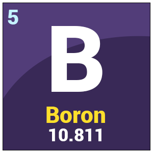 boron chemical properties amp uses atomic number