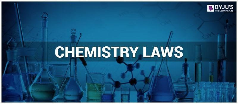 Chemistry laws