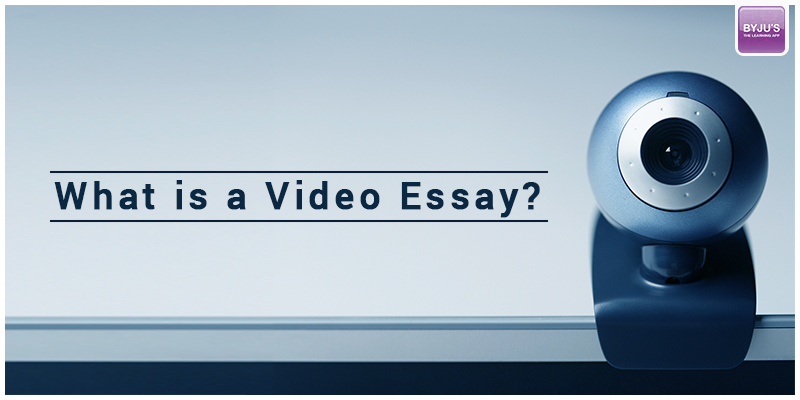 Video Essay GMAT