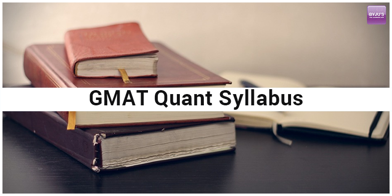 GMAT Quantitative Syllabus