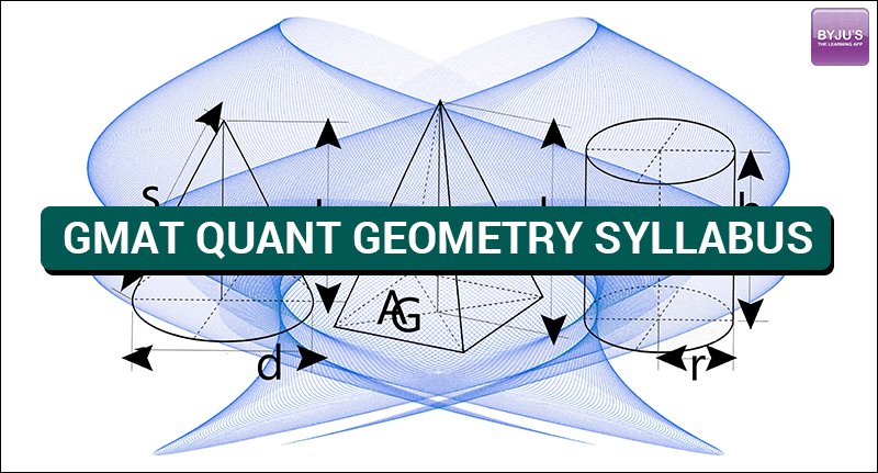 GMAT Quant Geometry Syllabus