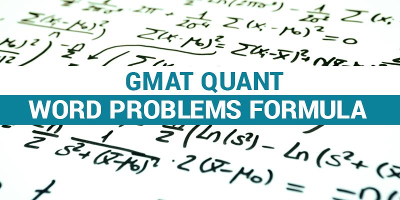 GMAT Quant Formula