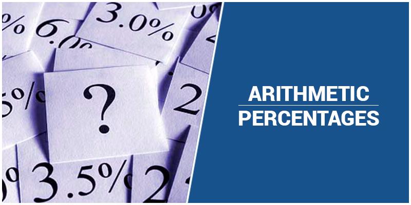 GMAT Arithmetic: Percentages