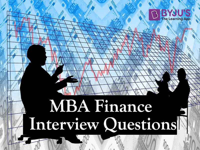 MBA Finance questions