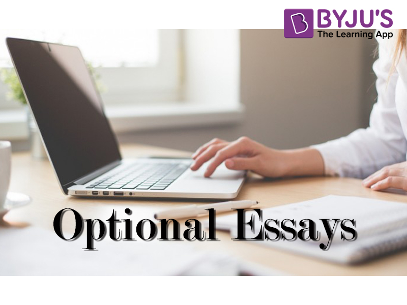 MBA optional essays