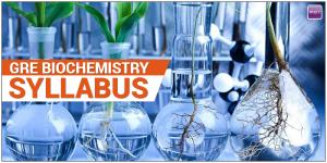 GRE Biochemistry Syllabus