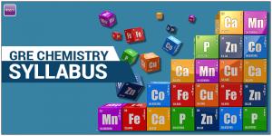 GRE Chemistry Syllabus