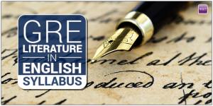 GRE Literature in English Syllabus