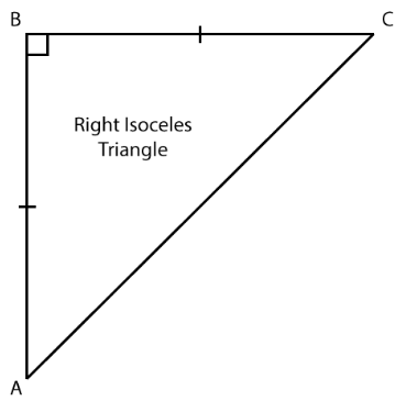 Right Isosceles Triangle