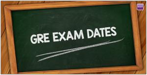 GRE Exam Dates