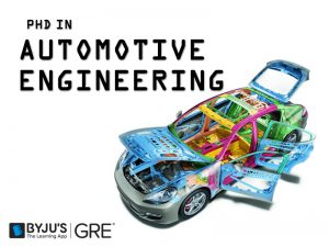 phd in Automotive Engineering