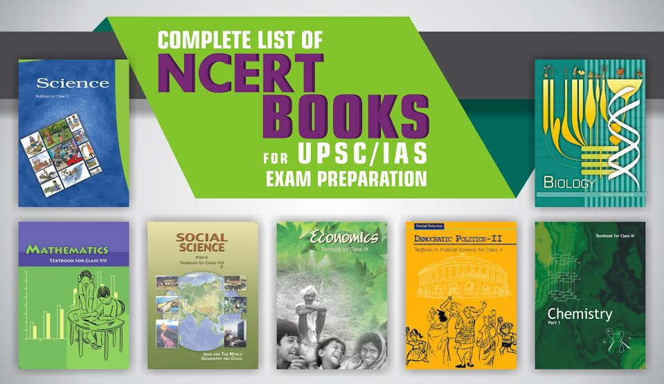 NCERT BOOKS For UPSC/IAS Prelims Exam