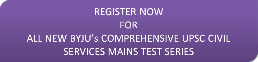UPSC Civil Services IAS Mains Test Series