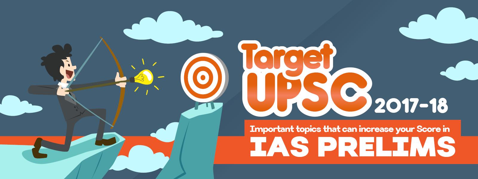 target upsc 2017-18