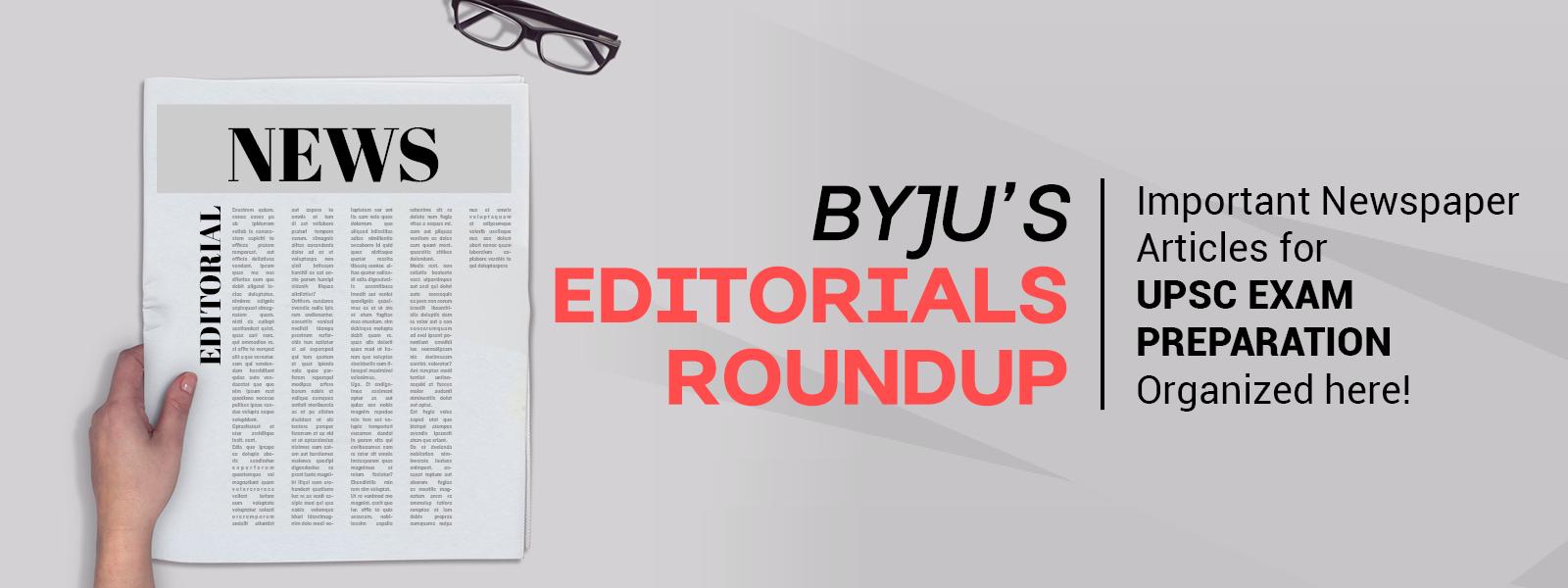 editorial roundup