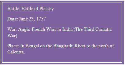 battle of plassey short summary