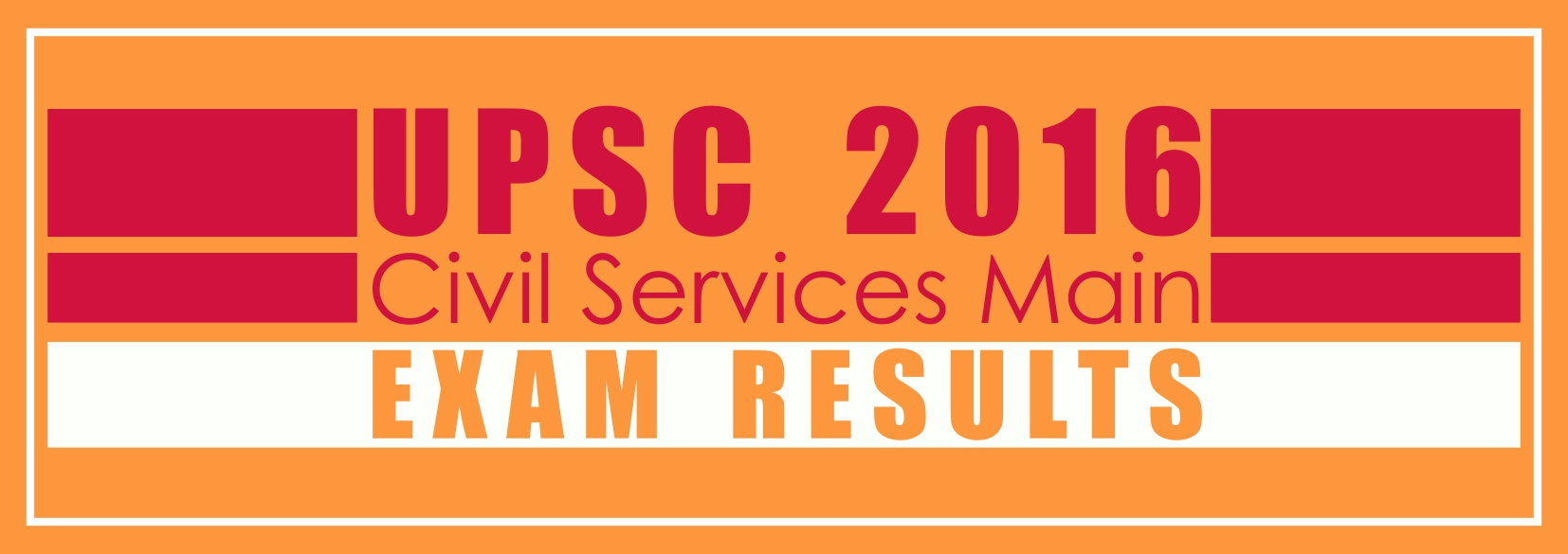 UPSC 2016 CSM exam results