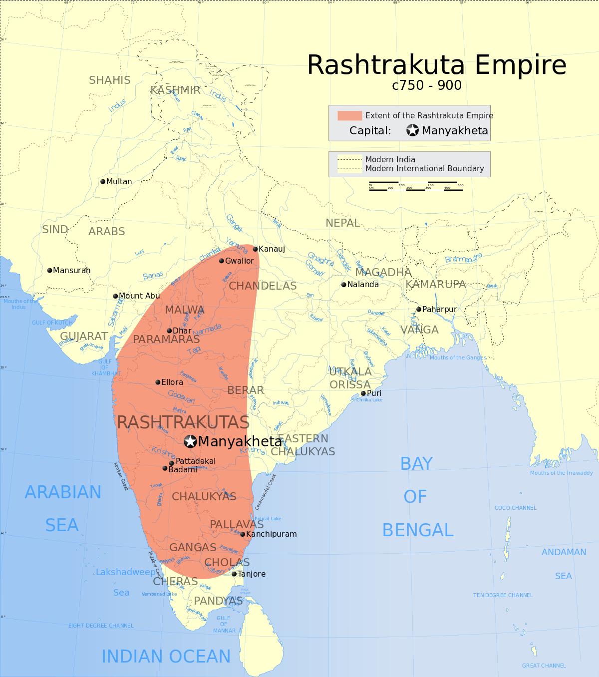 Rashtrakuta empire (750-900)